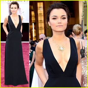 Samantha Barks - Oscars 2013 Red Carpet