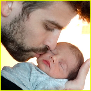 Shakira &#038; Gerard Pique Share Baby Milan's First Picture!