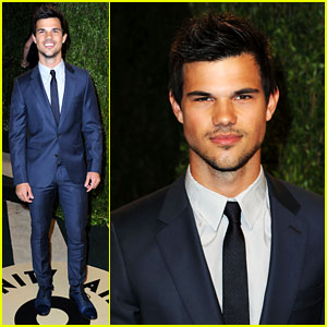 Taylor Lautner - Vanity Fair Oscars Party 2013