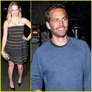 Teresa Palmer & Paul Walker: Pre-Oscars Parties!