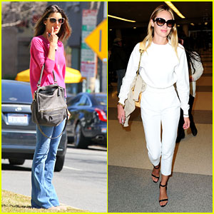 Alessandra Ambrosio &#038; Candice Swanepoel: Solo Outings!