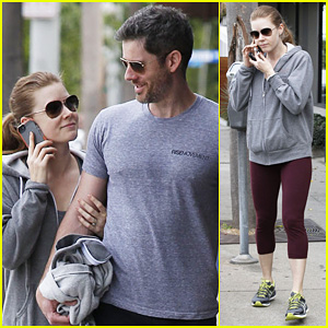 Amy Adams & Darren Le Gallo: Gym Lovers!