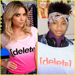 Ashley Benson &#038; Willow Smith: Delete Digital Drama &#038; End Cyberbullying!