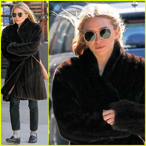 Ashley Olsen: Windy NYC Errands!