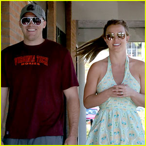 Britney Spears & David Lucado: Forever Bella Tanning Stop!