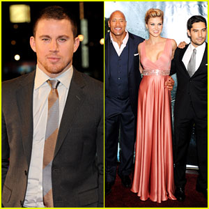 Channing Tatum: 'G.I. Joe: Retaliation' London Premiere!