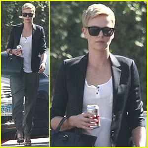 Charlize Theron: Disney Studios Meeting!