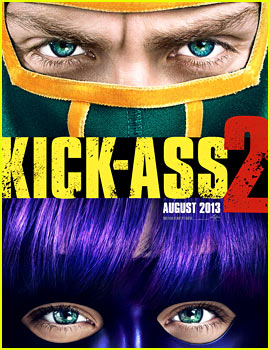 Chloe Moretz & Aaron Taylor-Johnson: 'Kick-Ass 2' Trailer & Poster!