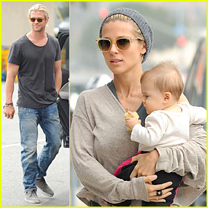 Chris Hemsworth & Elsa Pataky: Rug Shopping with India!