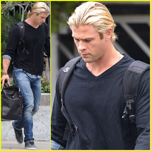 Chris Hemsworth: LAX Bound!