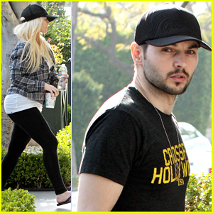 Christina Aguilera & Matthew Rutler: WeHo Couple!