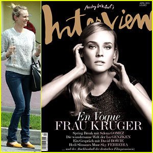 Diane Kruger Covers 'Interview Germany' April 2013