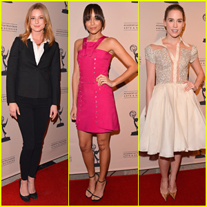 Emily VanCamp & Ashley Madekwe: 'Revenge' Academy Evening!