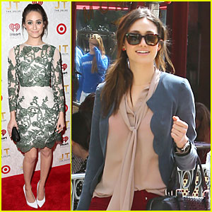 Emmy Rossum: 'The 20/20 Experience' Record Release Party!