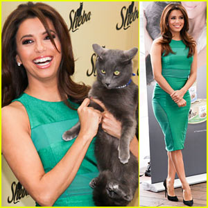 Eva Longoria: Sheba Feed Your Passion Campaign Launch!