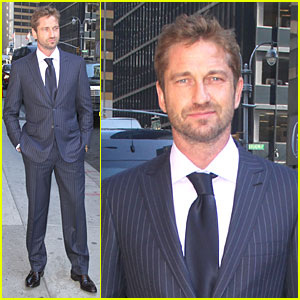 Gerard Butler: I Worked at Roger DuBois!