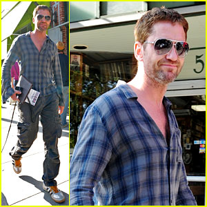 Gerard Butler Steps Out After 'Olympus' Opens Strong