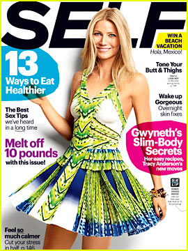 Gwyneth Paltrow Covers 'Self' April 2013