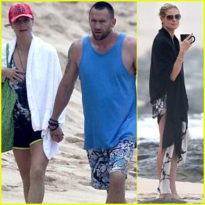 Heidi Klum & Martin Kirsten: Hawaii Beach Day with the Family!