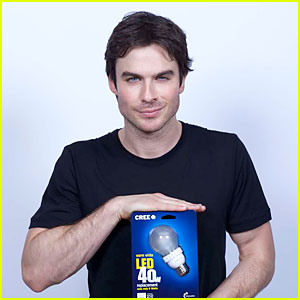 Ian Somerhalder: Cree Energy Saver!