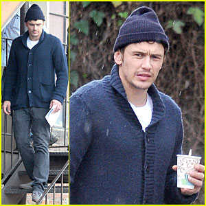 James Franco: 'Bukowski' Rainy Set Directing!