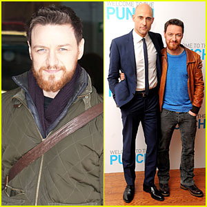 James McAvoy & Mark Strong: 'Welcome To The Punch' London Premiere!