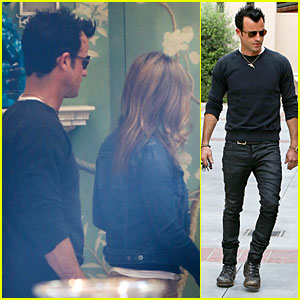 Jennifer Aniston & Justin Theroux: Furniture Shopping Couple!
