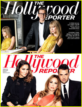 Jennifer Lopez & Taylor Swift Cover THR's Stylists Issue