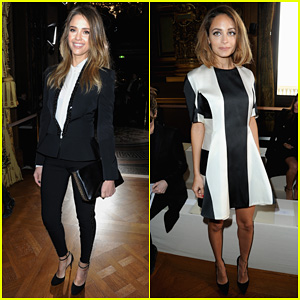 Jessica Alba & Nicole Richie: Stella McCartney Fashion Show!