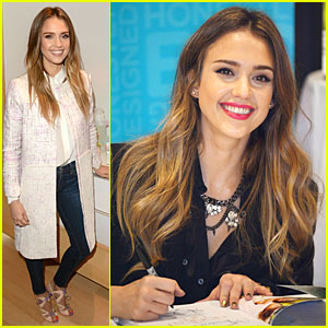 Jessica Alba: 'The Honest Life' Book Launch!