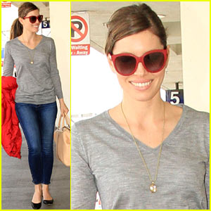 Jessica Biel Steps Out Post-Justin Timberlake's '20/20' Sales News