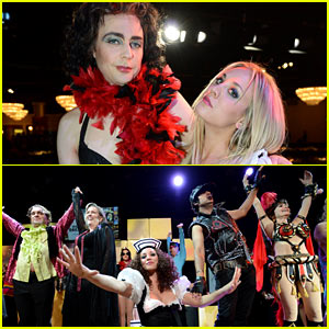 Jim Parsons & Kaley Cuoco: 'Big Bang Theory' as 'Rocky Horror' for Alzheimer's