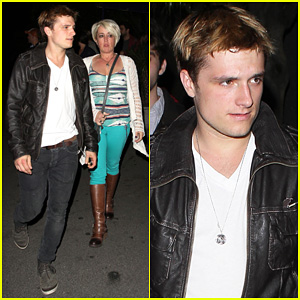Josh Hutcherson: Bowling Night with Mom!