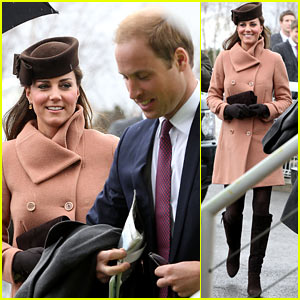 Kate Middleton: Pregnant Cheltenham Visit with Prince William!