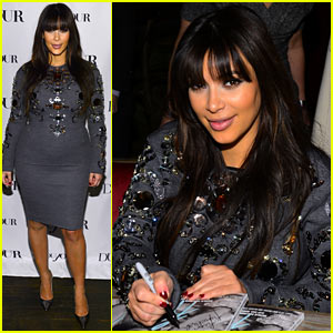 Kim Kardashian: 'DuJour' Magazine Celebration!