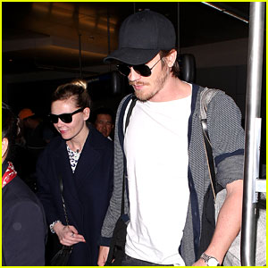 Kirsten Dunst & Garrett Hedlund: Paris to Los Angeles!