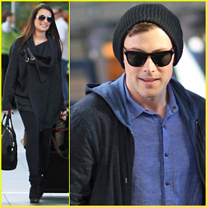 Lea Michele & Cory Monteith: From Vancouver To L.A!