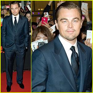 Leonardo DiCaprio: 'Django Unchained' Seoul Premiere!