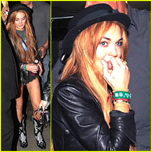 Lindsay Lohan: 'Late Show With David Letterman' in April!
