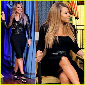 Mariah Carey: 'Fallon' & 'Live with Kelly & Michael' Visits!