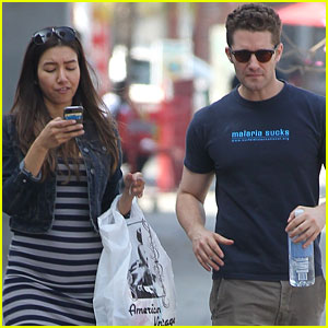Matthew Morrison & Renee Puente: Shopping Duo!