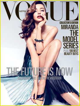 Miranda Kerr Covers 'Vogue Australia' April 2013