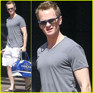 Neil Patrick Harris: Gym Guy!