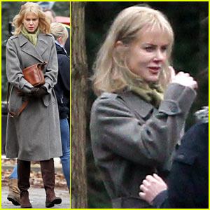 Nicole Kidman: 'Before I Go to Sleep' Set!