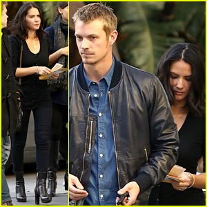 Olivia Munn & Joel Kinnaman: Lakers Lovebirds!
