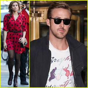 Ryan Gosling & Eva Mendes: Separate Hotel Exits!