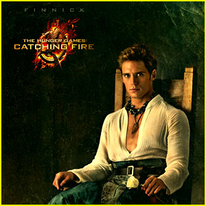 Sam Claflin as Finnick: 'Hunger Games: Catching Fire' Portrait!