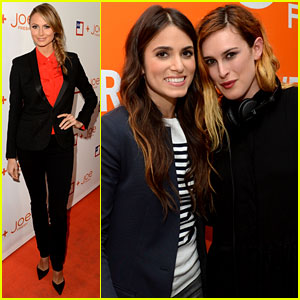 Stacy Keibler & Nikki Reed: JCPenney's Joe Fresh Launch!