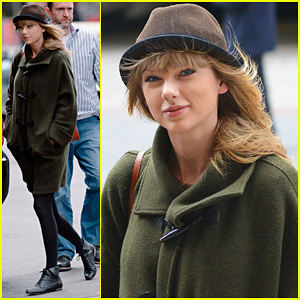 Taylor Swift: NYC Arrival for 'Red' Tour!