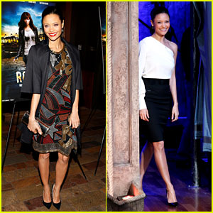 Thandie Newton: 'Rogue' Premiere &#038; 'Fallon' Appearance!